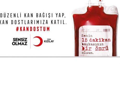 Taraftar derneğinden kan ve kök hücre bağışı kampanyası