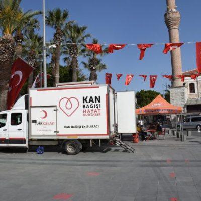 Bodrum'da 350 ünite kan bağışlandı