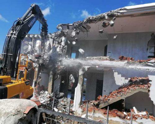Bodrum'da kaçak yapıyla mücadele